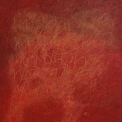 Teo Libardo - Rouges n°450, 2008 - acrylique sur toile, 60x60 cm - © Adagp, Paris, 2017