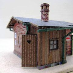 (c) W. Fehse - WC-Anbau aus Holz