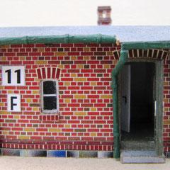 (c) W. Fehse - Blick in den Hausflur
