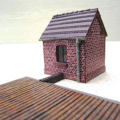 (c) W. Fehse - Wiegehaus und Waagefläche