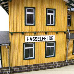 c) W. Fehse - Original-Bahnhofs-Schild