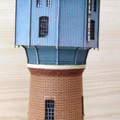 (c) W. Fehse -  zehneckige Dachkonstruktion