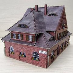 (c) W. Fehse  - Dach mit Biberschwanz-Kronendeckung