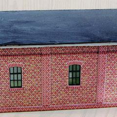 (c) W. Fehse - Klinkerfassade mit typischen Fenstern