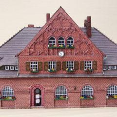 (c) W. Fehse  - Giebelansicht mit edlen Rundbogenfenstern