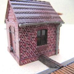(c) W. Fehse - Seitenansicht des Wiegenhauses