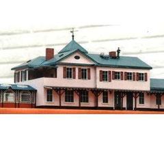 (c) W. Fehse - Empfangsgebäude Rückseite