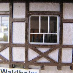 (c) W. Fehse - Stellwerk Waldheim Wo, Putz hell, 1:87 (H0)