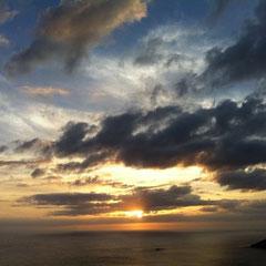 小笠原の夕日