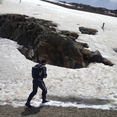 Reichlich Schnee gab es dieses Jahr