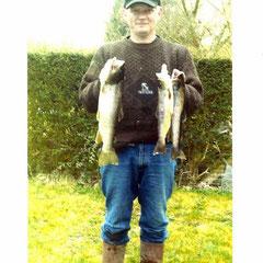Alain. Ouverture de la pêche 2010