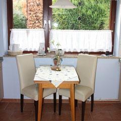 Fewo 1 Küche - Tisch ausziehbar