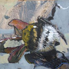 bumblebees | 24 x 18 cm | Mixedmedia auf Papier | 2015 |
