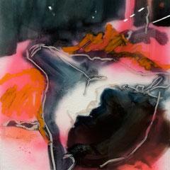 bear | 50 x 40 cm | Öl und Acryl hinter Acrylglas | 2017