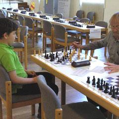 Jung gegen Alt und ein sehr langes Spiel