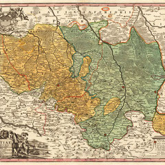 Karte O.-& N.-Lausitz, Hamann 1720