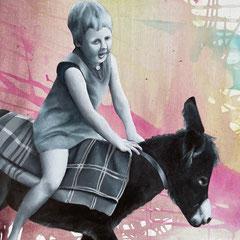 Lisa (2021, Acryl auf Leinwand, 50x70 cm)