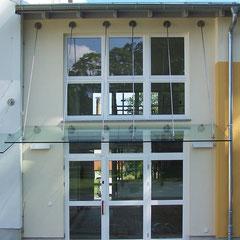 Eingangsportal Anbau Kindertagesstätte | Bretnig