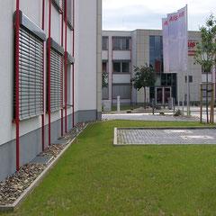 Ensemble der beiden AIS Firmengebäude