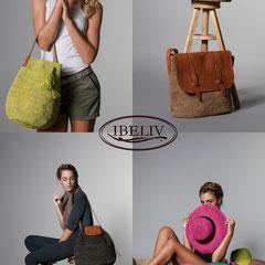 Campagne publicitaire pour Ibeliv - Maroquinerie & capellerie