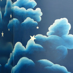 detail of clouds
