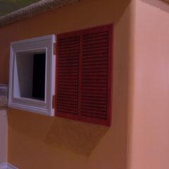 detail of shutter