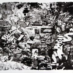 Peng Xia, Nr.03, Lithographie, 2011