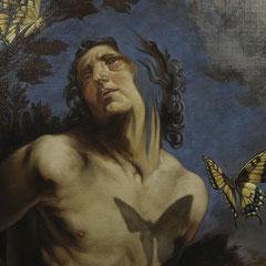 Métamorphose III - Huile sur toile (Détail) F.MARTIN©