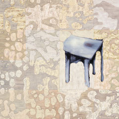 """Zydel"", 2000, Öl auf Leinwand, 115 x 130 cm"