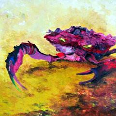 Otto, Acryl auf Leinwand, 120x100cm, verkauft