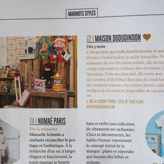 Hors Serie = Vivre Paris Kids - Mai 2016 article de presentation
