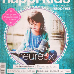 Hors Serie n 3 du Magayine Happinez = Happi Kids - Avril 2015
