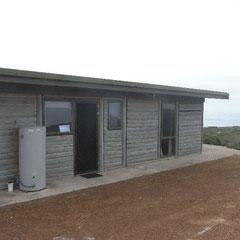 unsere erste Unterkunft auf Kangaroo Island - Hanson Bay
