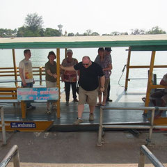 in Amphawa angekommen