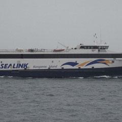 """mit """"Sealink"""" ging es nach Kangaroo Island"""