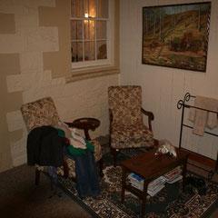ein kleines Wohnzimmer