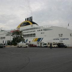 ein Schiff der Anek Line