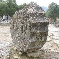 die Ausgrabungsstätten von Olympia