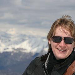 auf dem Gipfel des Monte Baldo