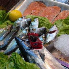 Auch hier gibt es frischen Fisch