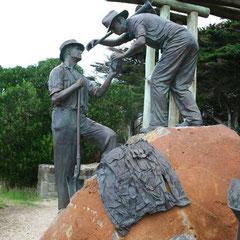 ein Denkmal für die Erbauer der Road