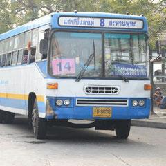 Linienbus in Bangkok