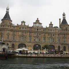 der alte Bahnhof von Kadiköy