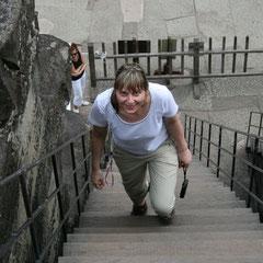 Marita auf dem Weg in die dritte Ebene