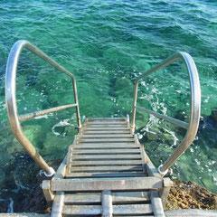 der neue Einstieg ins Meer