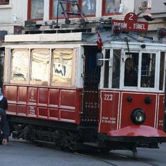 Tünel - Taksim Platz und zurück