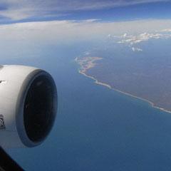 endlich unter uns nach ca. 16 Stunden Flugzeit ------- Australien