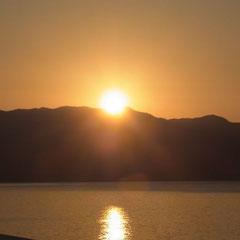 unser erster Sonnenaufgang in Kaş