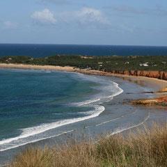 unsere ersten Eindrücke von der Küstenlandschaft
