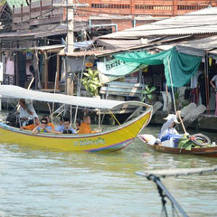 Floating Market from Amphawa